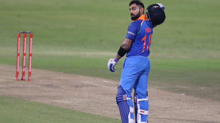 Indian batsman Virat Kohli (Photo Credit-AFP)