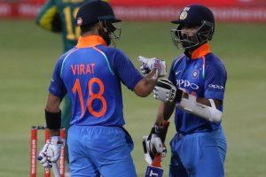 1st ODI: Kohli, Rahane lead India to victory