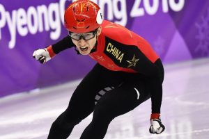 New world record as China's Wu grabs short track gold
