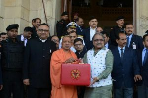 Yogi govt presents 'biggest' UP Budget; farmer, health top priority