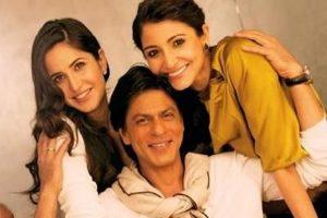 SRK revives 'Main Hoon Na' moment with Katrina Kaif, Anushka Sharma, see pic