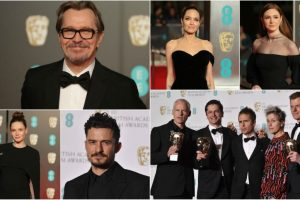 BAFTA 2018: Hollywood celebs dressed in black in support of 'Time's Up'