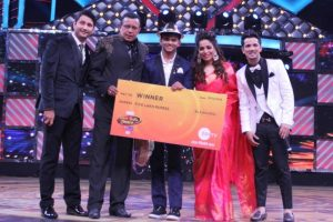 Sanket Gaonkar walks away with 'Dance India Dance 6′ trophy