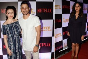 In pics: B-Town celebs arrive in style at 'Love Per Square Foot's screening in Mumbai