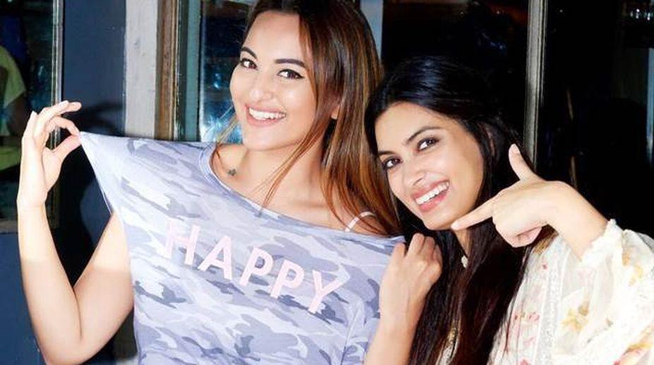 Diana Penty, Sonakshi Sinha, Happy Phirr Bhag Jayegi