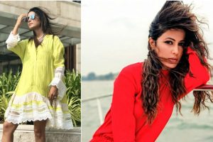 Hina Khan's wardrobe collection giving us summer vibes