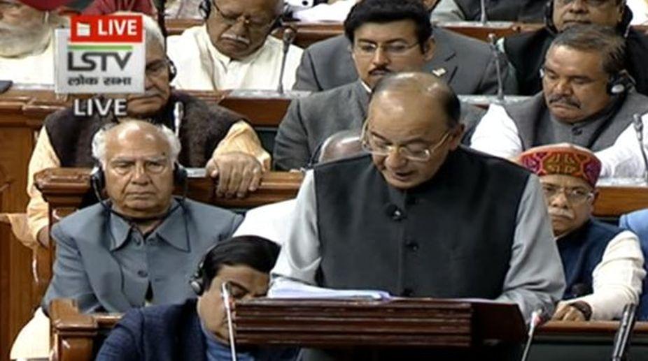 Those in 'hawai chappal' must fly on 'hawai jahaj', says FM Arun Jaitley in Budget speech