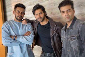 Karan Johar, Varun Dhawan, Shashank Khaitan reunite for 'Rannbhoomi'