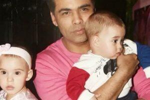 Pics: Taimur, AbRam attend Karan Johar's twins Yash and Roohi's first birthday bash
