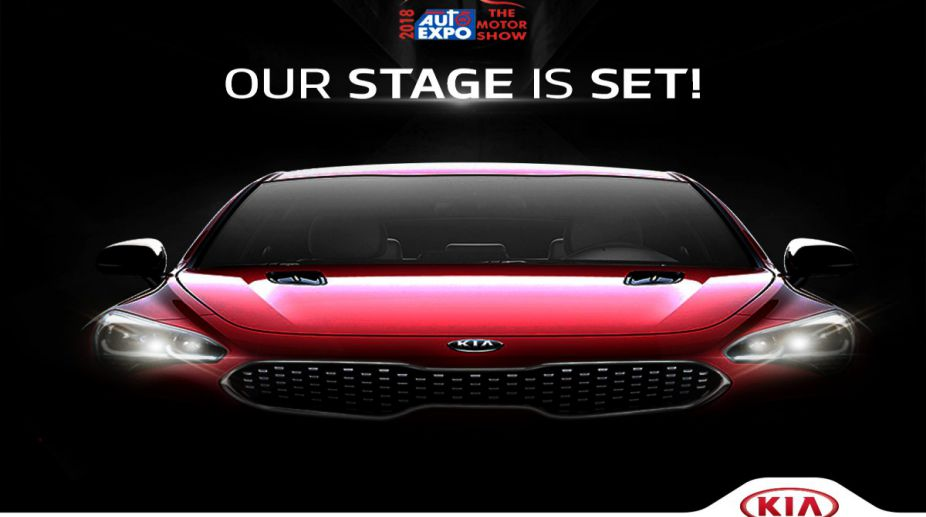 Kia Motors showcases its Concept SUV and more lineup for India at Auto Expo 2018