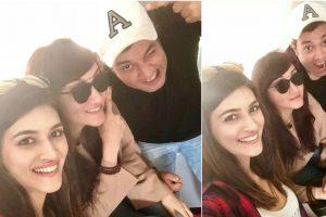 Kriti Sanon, Varun Sharma head to Chandigarh for shooting of 'Arjun Patiala'