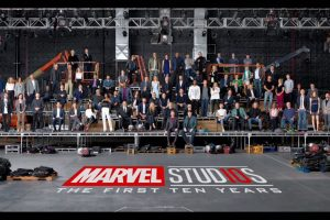 Marvel superheroes assemble for epic class photo
