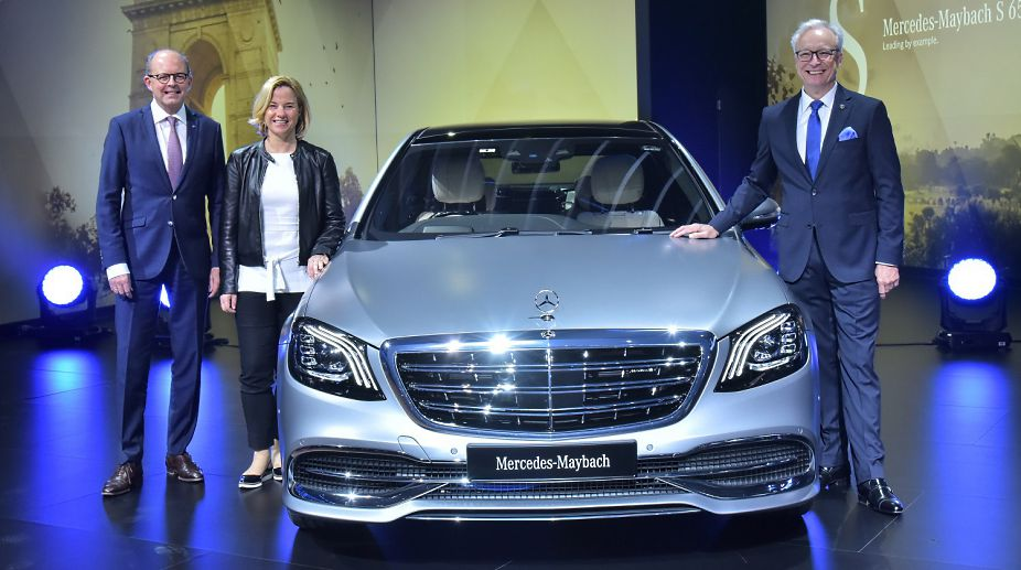 Auto Expo 2018: Mercedes-Benz Maybach S 650 launched, EQ concept and more showcased