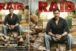 Ajay Devgn, Ileana D'Cruz starrer 'Raid's new poster revealed