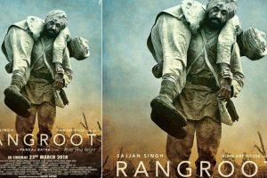 Diljit Dosanjh dons intense soldier look in 'Sajjan Singh Rangroot' poster