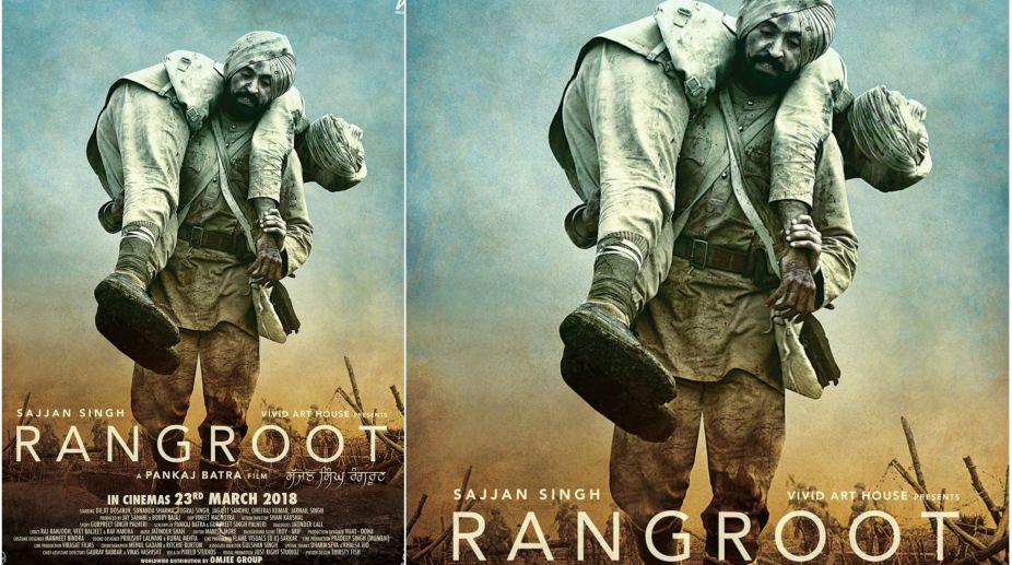 Diljit Dosanjh, Sajjan Singh Rangroot, Soldier, World War I