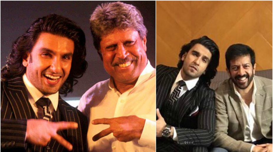 Ranveer Singh, 1983 World Cup, cricket, Kapil Dev, Kabir Khan