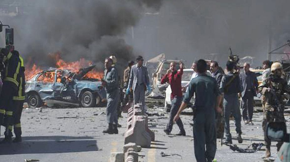 suicide bombing, Afghanistan, Kabul suicide bombing, Afghan clerics meeting