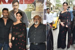 In pics: Trailer launch of Ajay Devgn's 'Raid' in Mumbai