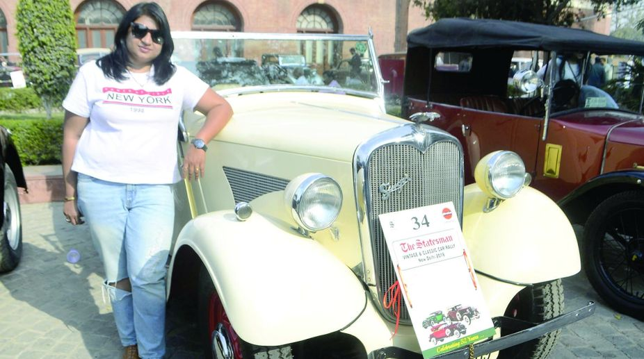 Classic Car Rally, The Statesman, Vintage Car, vintage beauties, Ruchi B Jain