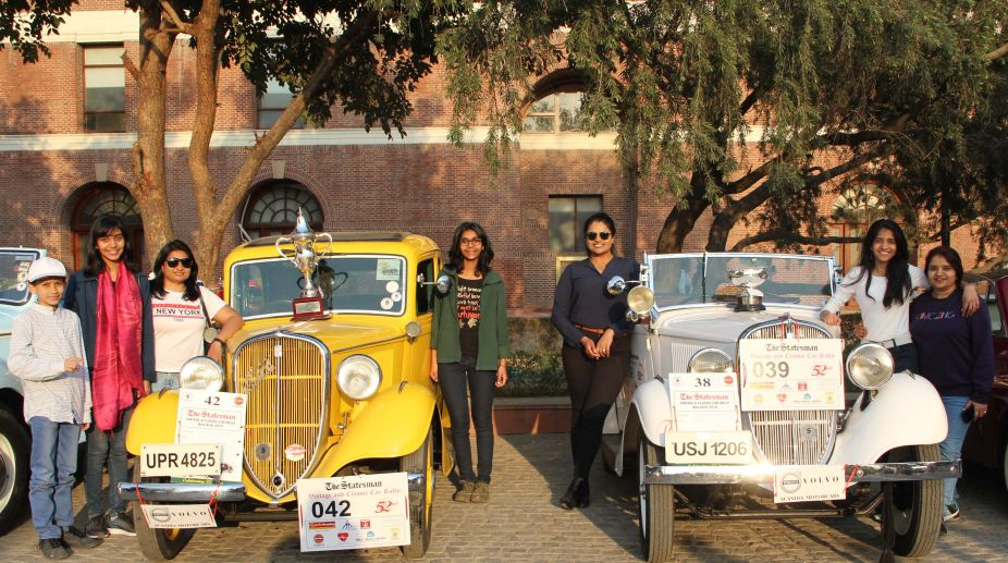 The Statesman, Vintage car Rally, Ladies Day out, Akanksha Sharma, Austin Chummy