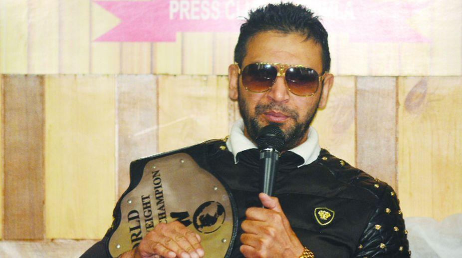 Tiger Rapta, champion grappler, wrestling