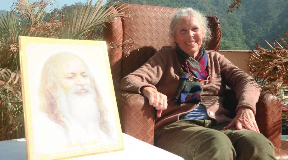 Maharishi Mahesh Yogi, Prudence Farrow, Rishikesh
