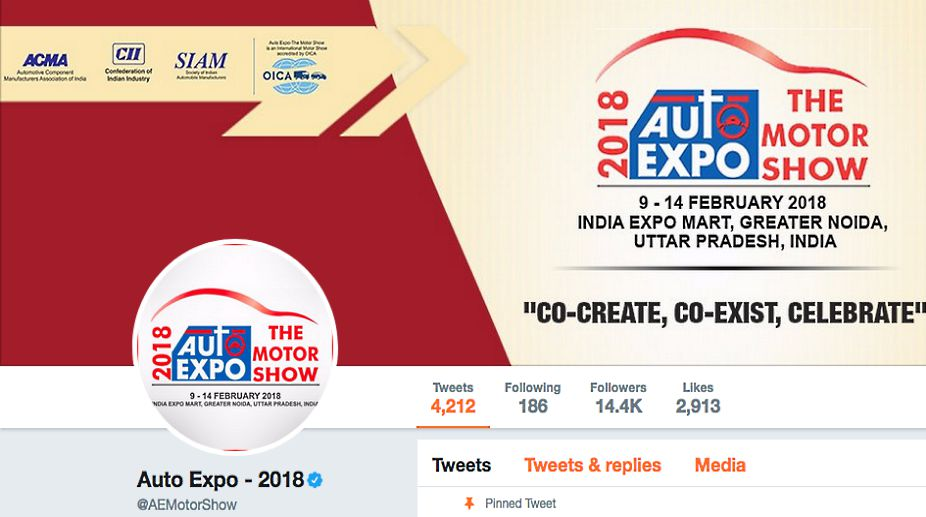 Twitter gets ready for Auto Expo 2018 with a special Auto Expo emoji, to highlight livestreams