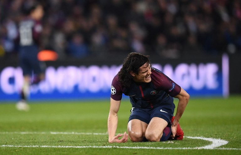 Edinson Cavani, Paris Saint-Germain F.C., UEFA Champions League, Paris Saint-Germain vs Real Madrid