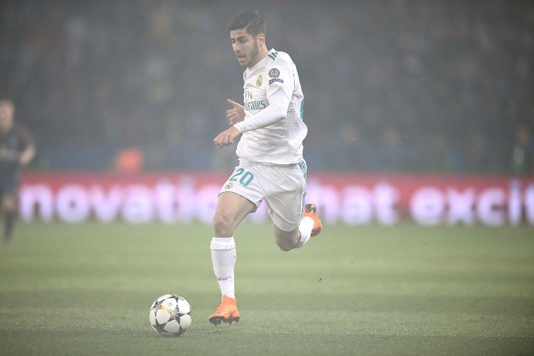Marco Asensio, UEFA Champions League, Paris Saint-Germain vs Real Madrid, UEFA Champions League