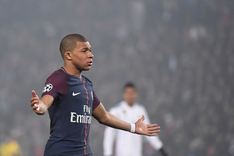 Kylian Mbappe, Paris Saint-Germain F.C., UEFA Champions League, Paris Saint-Germain vs Real Madrid