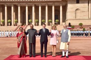President Emmanuel Macron's India visit: Delhi hosts France's first couple