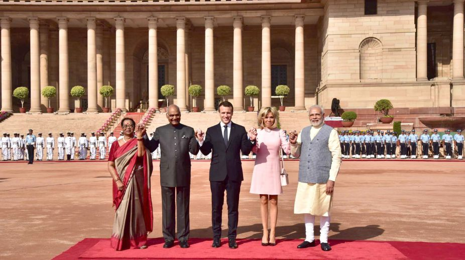 Macron Visit India And France Sign 14 Agreements To Boost Ties