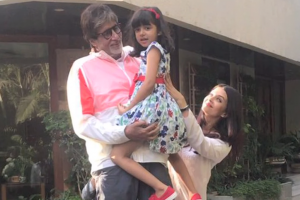 Granddaughter Aaradhya finds Amitabh Bachchan's 'a-capella' ad amusing