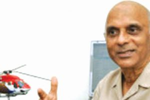 'Chopper services need infrastructural support'