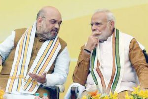 Video: Amit Shah gaffe leaves Yeddyurappa, BJP embarrassed