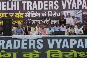 Students, teachers, traders…A day of protests in Delhi