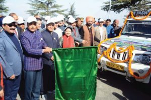CM Jai Ram Thakur flags off rapid fire fighting force vehicles to sensitive areas