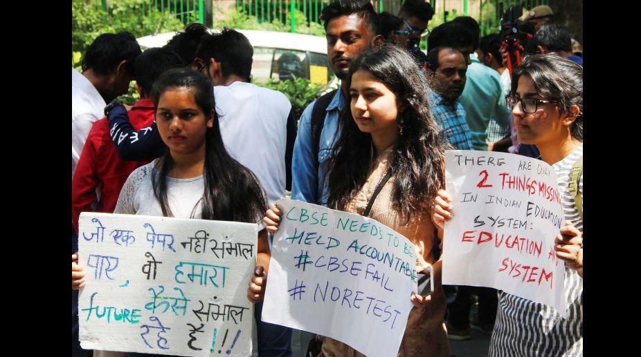 CBSE, Paper leak, India, Mathematics, Economics