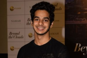 Ishaan Khattar lost weight for debut film