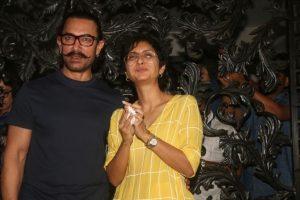 In pics: Aamir Khan celebrates birthday with wife Kiran Rao