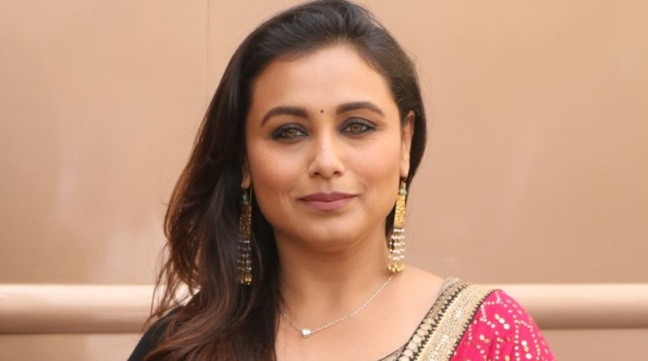 Want to treat my 40 as my 20: Rani Mukerji