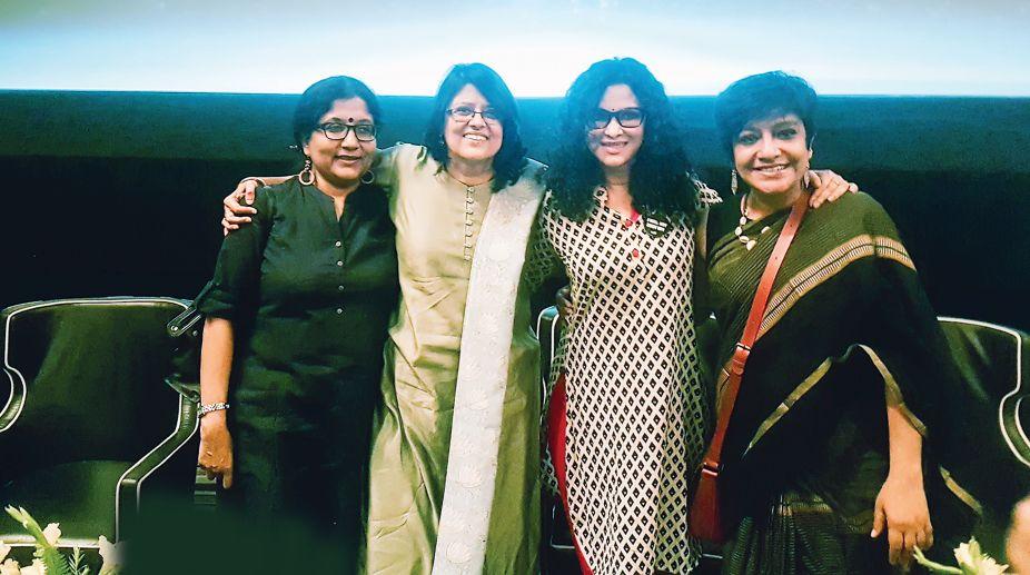 Koel Chatterji, Anuja Gupta, Nandana Sen, Ayesha Sinha