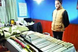 Arms seized, cops say Sikkim helped Bimal with cash