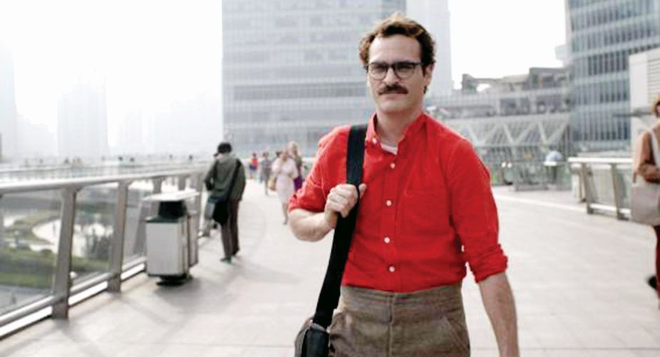 As Theodore Twombly  in Spike Jonze's Her.