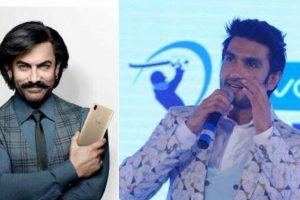 Aamir Khan replaces Ranveer Singh as Vivo India brand ambassador