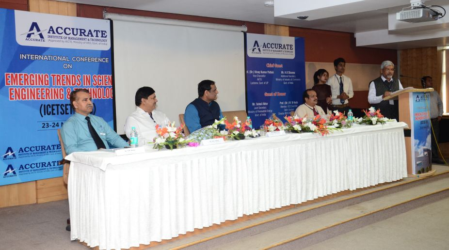 Two-day international conference organised at Accurate Institute