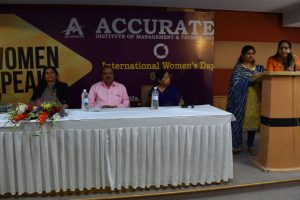 Women's Day celebrations at Accurate Institute