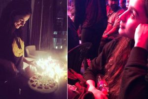 In Pics: Alia Bhatt's birthday celebration on the sets of 'Brahmastra'