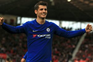 Watch: Chelsea striker Alvaro Morata sells 2 dummies in a row before scoring